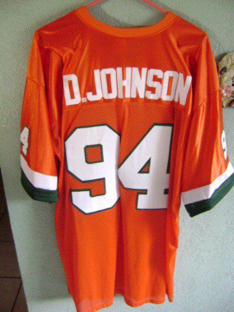 online store 3aa54 44646 Dwayne Johnson's Miami Hurricane Football Jersey | Its all ...