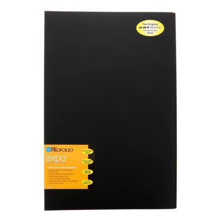 Itoya Art ProFolio Expo 11 inch x 17 inch Black