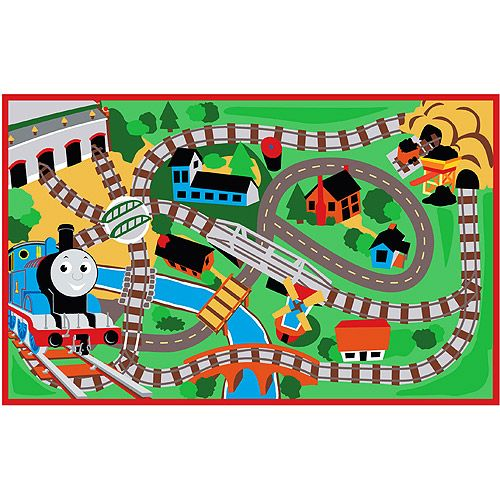 Train Track Rug Thomas The Train Rug Turning 2 Kids