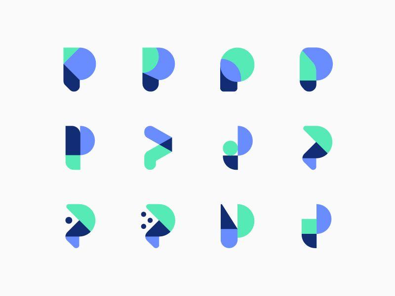 P Design: P Logo Design, Logo Design