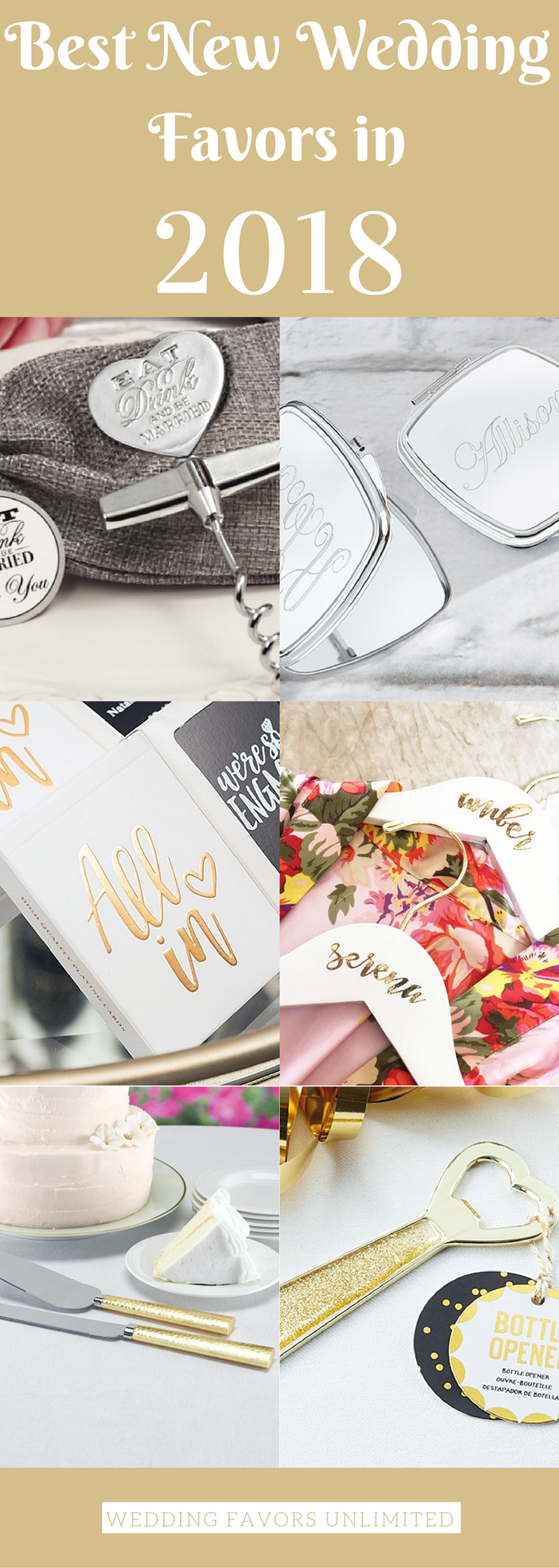 The Best New Wedding Favors in 2018 to make your wedding next year ...