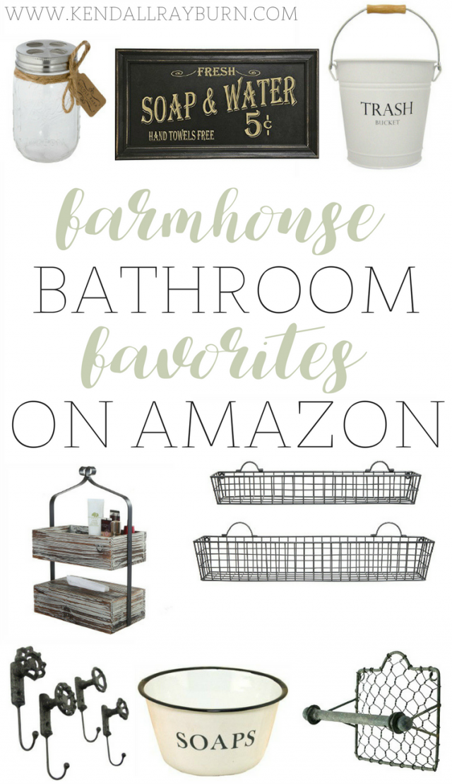 Farmhouse Bathroom Decor Farmhouse Bathroom Decor Farmhouse