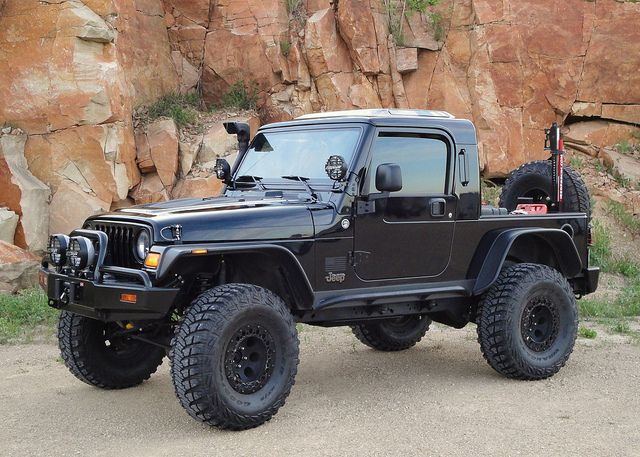 Lj Half Cab Jeep Truck Jeep Tj Jeep Parts