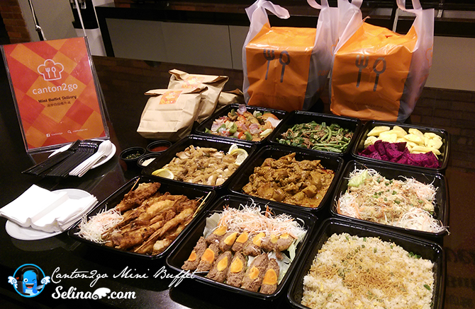 Canton2go Mini Buffet Delivery Help You Do A Simple And Easy Buffet Only Malaysian Food Food Reviews Food