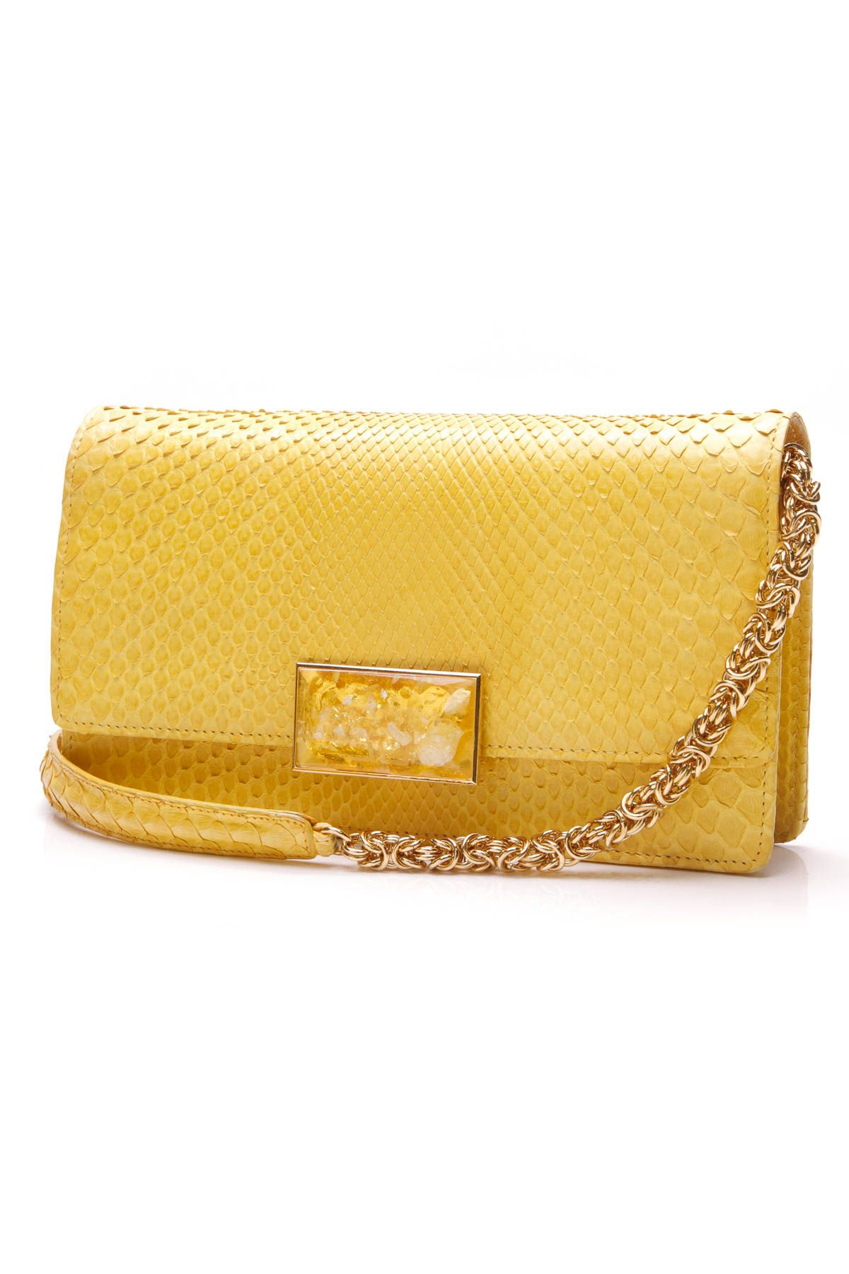Jane Bolinger Evening Clutch Bag - Python Chanel Handbags 4895989763ecb