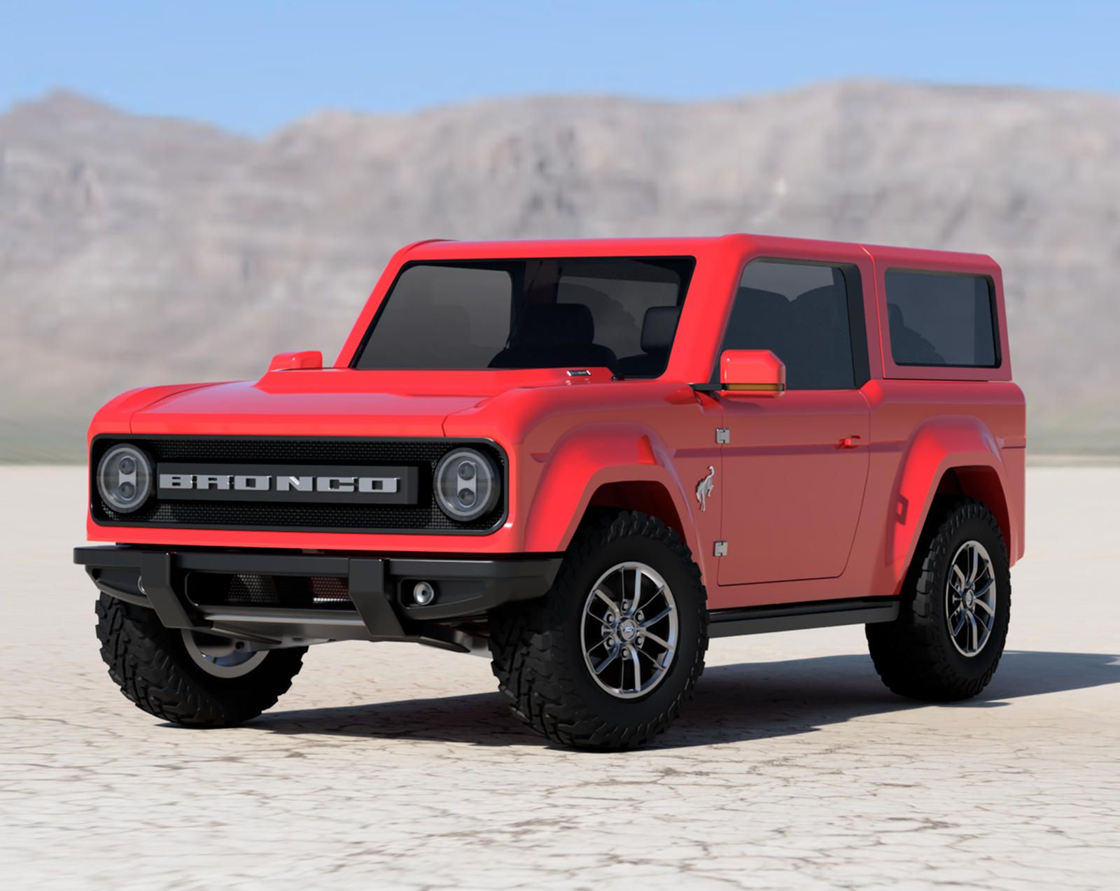 Best Look Yet At 2021 Ford Bronco In 2020 Ford Bronco New