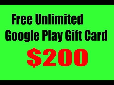 How to get unlimited google play gift cards/ 100% working