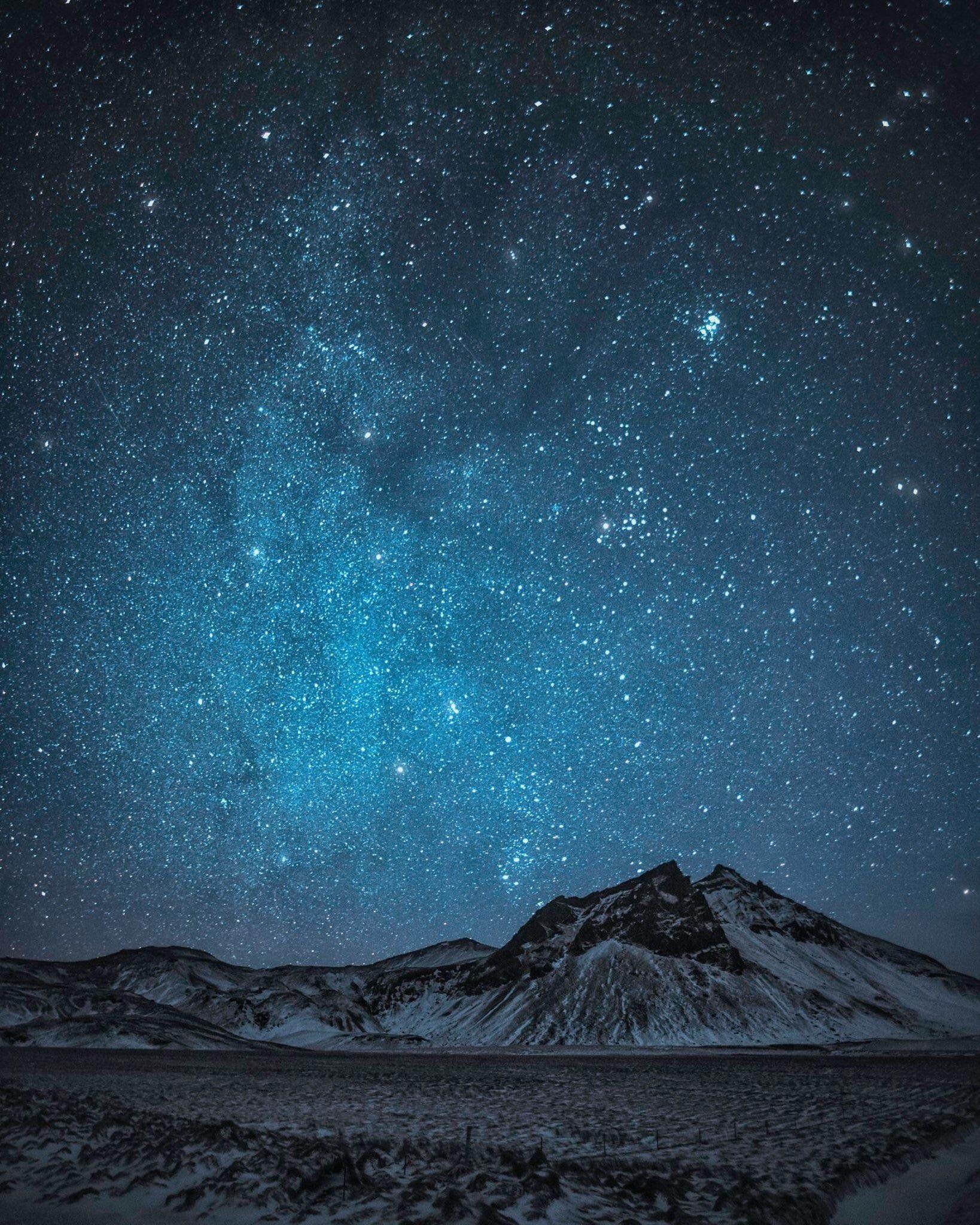 Starry Night Near Vik Iceland Oc 1638x2048 Earthporn Starry Night Nature Photography Night Photography