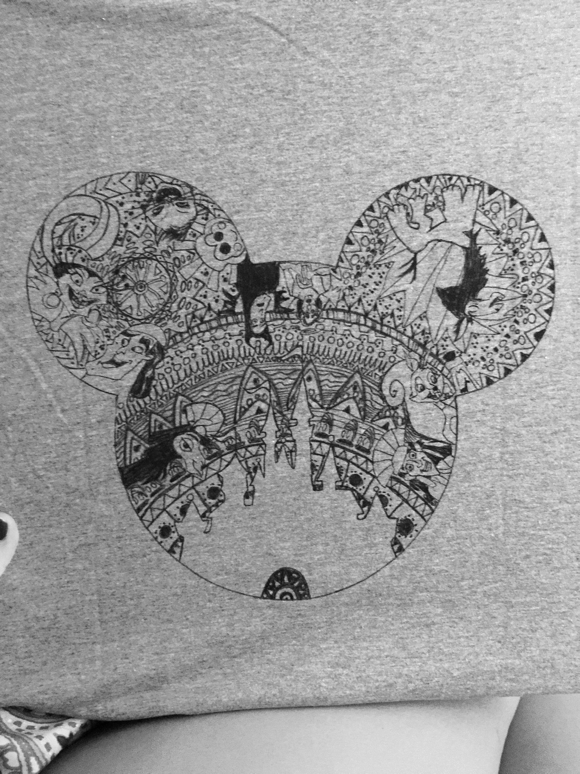 Emperor 39 s New Groove Disney Zentangle Shirt
