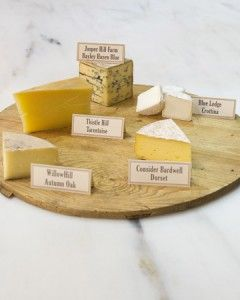Martha Stewart article on making the perfect cheese plate.