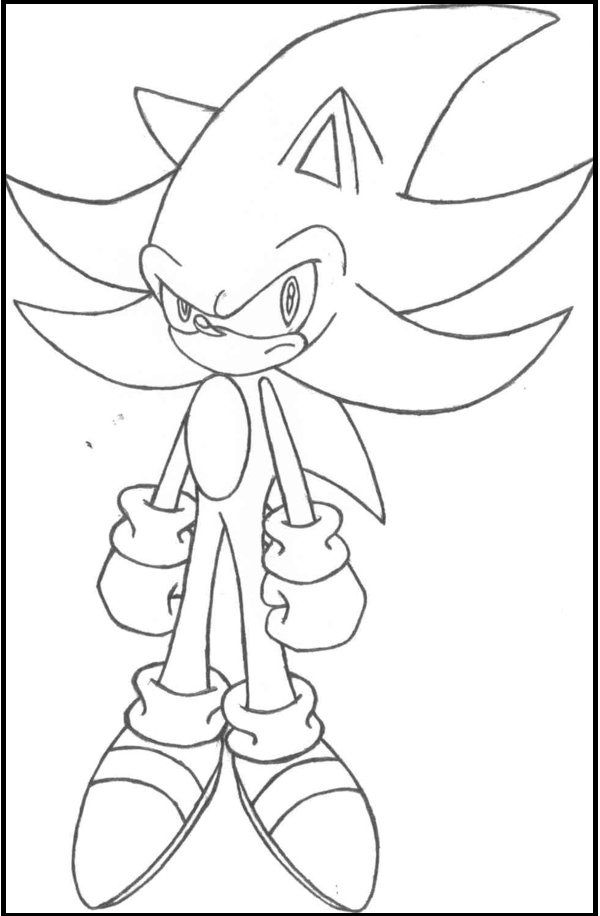 Pictures Sonic Channel coloring picture for kids | Sonic The ...