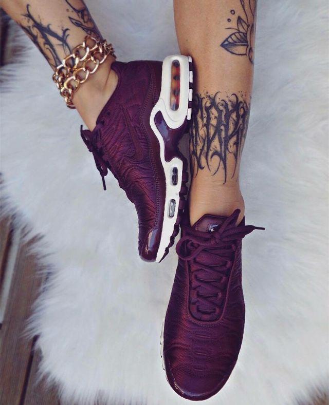 zapatillas nike mujer burdeos