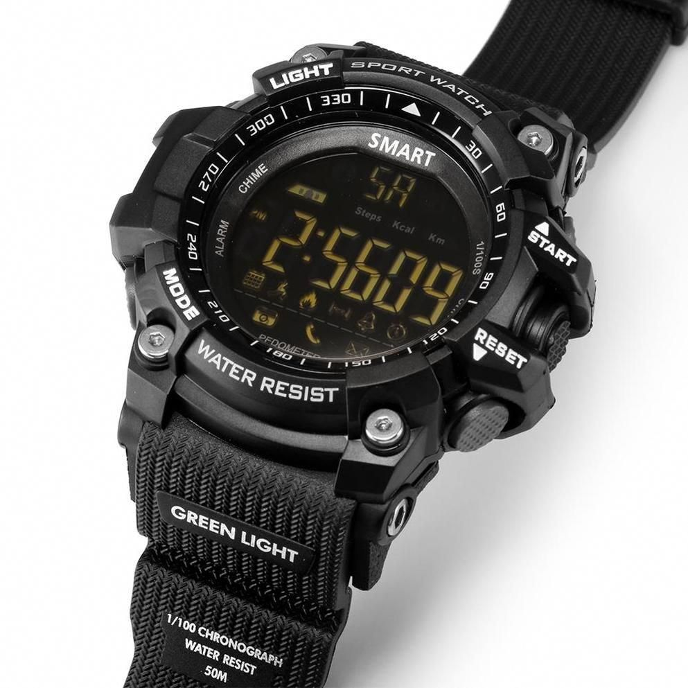 New Deluxe Smart Watch with BT Call / SMS /Twitter