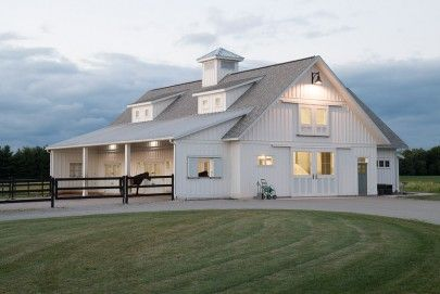 Top 20 metal barndominium floor plans for your home for Cost of building a horse barn