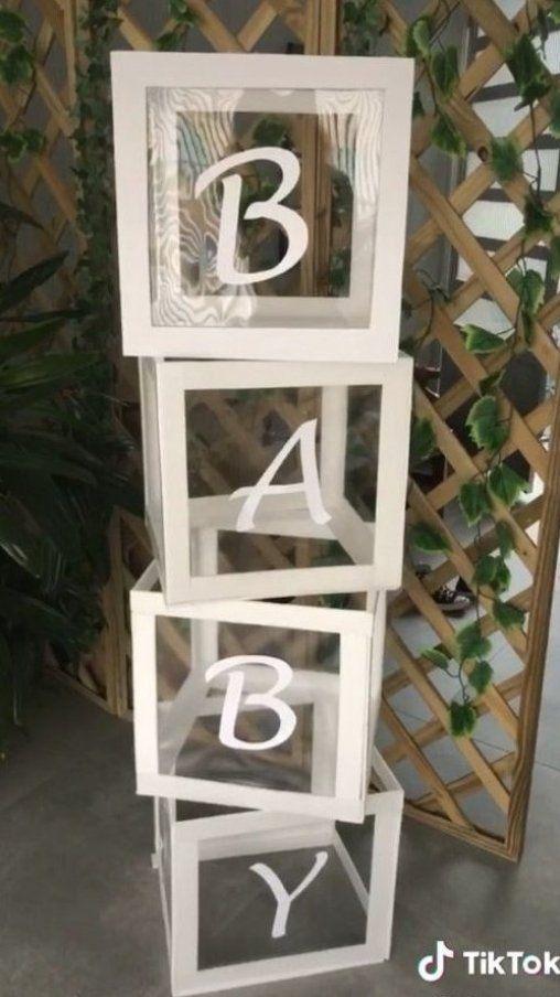 Veja o v  deo completo no meio canal  cubo decorativo para decora    o de festa      #diyhomedecor #easyhomedecor #diydecorideas #diydecor