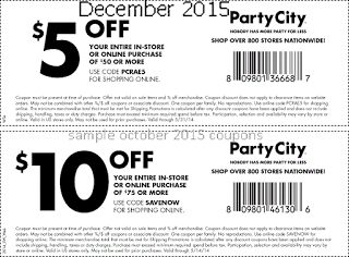 15 Off At Party City Party City Printable Coupons Party Printables Free