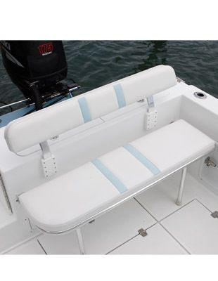Folding Rear Bench Seat Boat Stuff Pinterest Boat Boat Seats