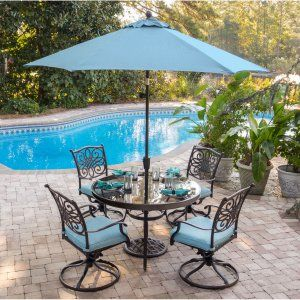 Poolside Patio Dining Sets On Hayneedle   Poolside Outdoor Dining Sets