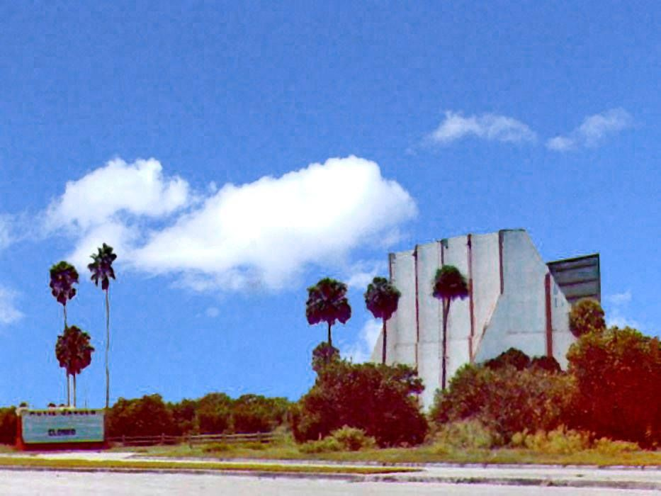 Eustis drive in theater demolished c1982 to make room