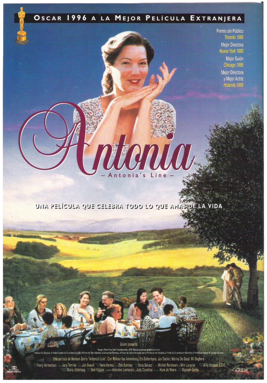Antonia 1995 Tt0112379 Peliculas Oscar Mejor Pelicula Afiche De Cine