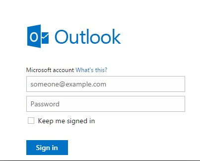 Hotmail Com Login With Images Hotmail Sign In Free Email