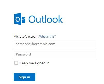 Hotmail Com Login Hotmail Sign In Free Email Address Microsoft Update