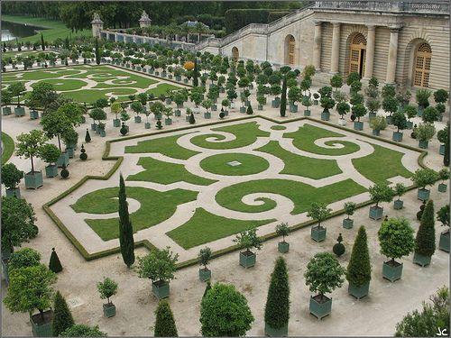 Jardin De Versalles Con Imagenes Jardines Bonitos Jardines Versalles