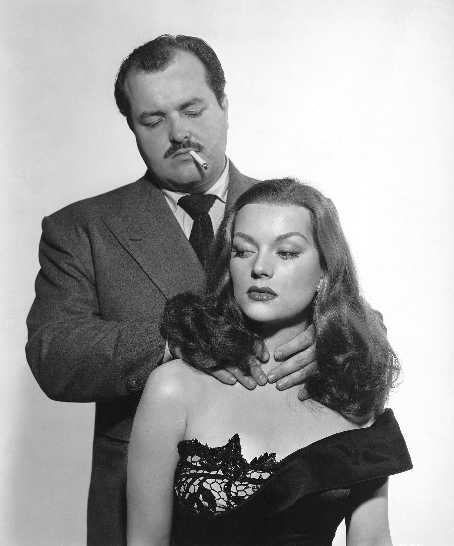 William Conrad and Hazel Brooks