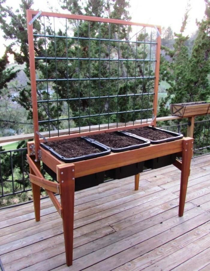 DIY Raised Planter Boxes Raised Garden Planter Plans – Elevated Garden Planter Plans