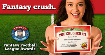 Get your fantasy football award certificate templates before the get your fantasy football award certificate templates before the season kicks off http yelopaper Choice Image