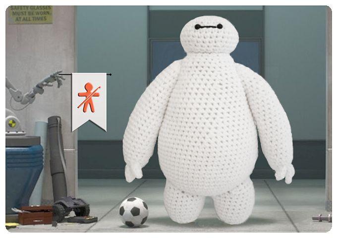 Baymax Big Hero By Judit Guillen - Free Crochet Pattern - (ravelry ...
