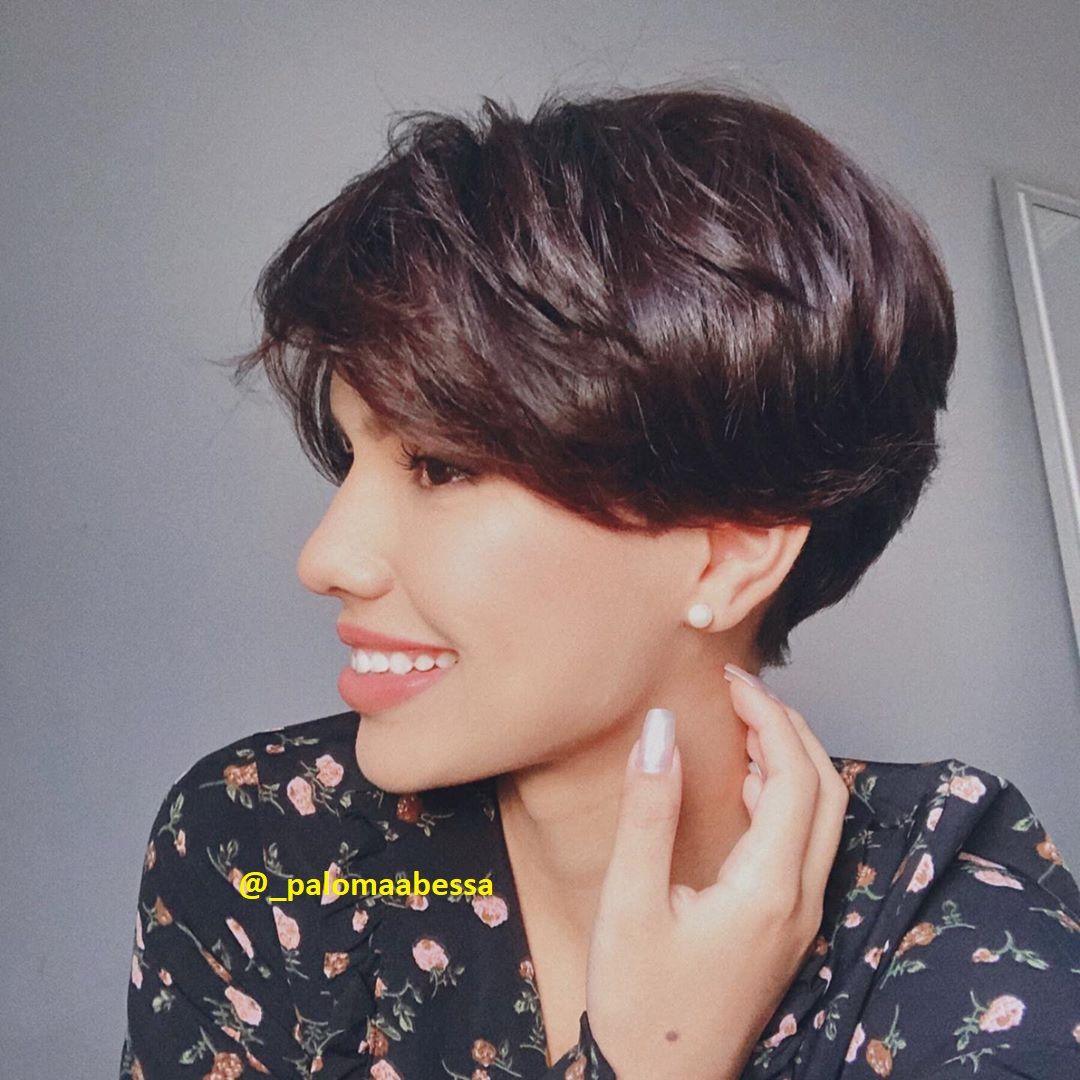 Kurze Dunkle Haare Kurzhaar Frisuren Frisuren Stil Haar Kurze Und Lange Frisuren In 2020 Kurze Dunkle Haare Dunkle Haare Dunkle Kurze Haare