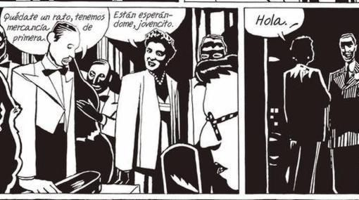 José Muñoz - Panels from Billie Holiday.