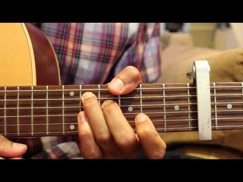 Sparks Guitar Lesson - Coldplay - http://afarcryfromsunset.com ...