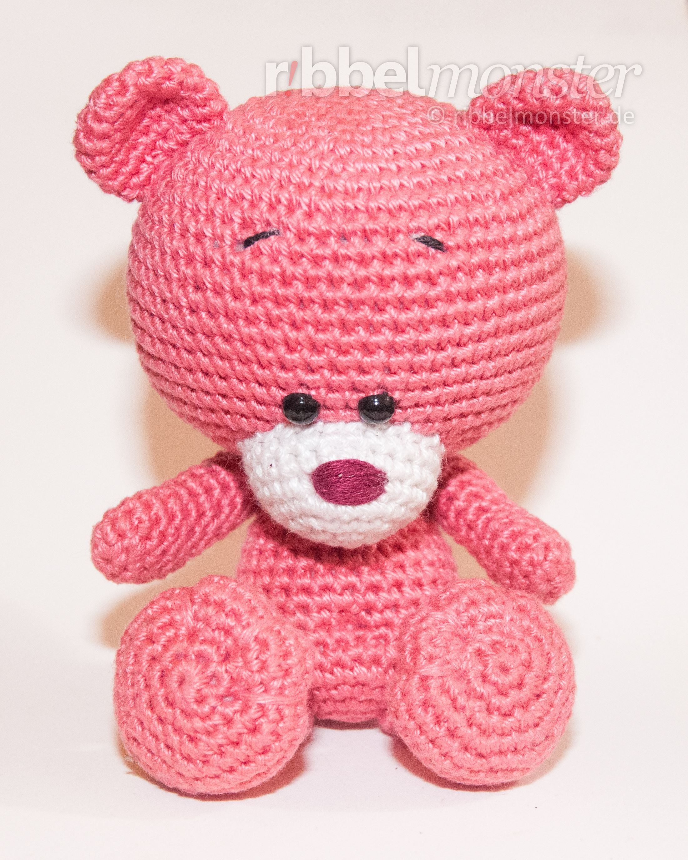 kostenlose anleitung amigurumi teddy h keln pina amigurumi pinterest teddy h keln. Black Bedroom Furniture Sets. Home Design Ideas