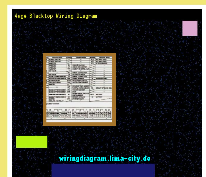 4age Blacktop Wiring Diagram Dodge Radio 175712 Amazing Collection