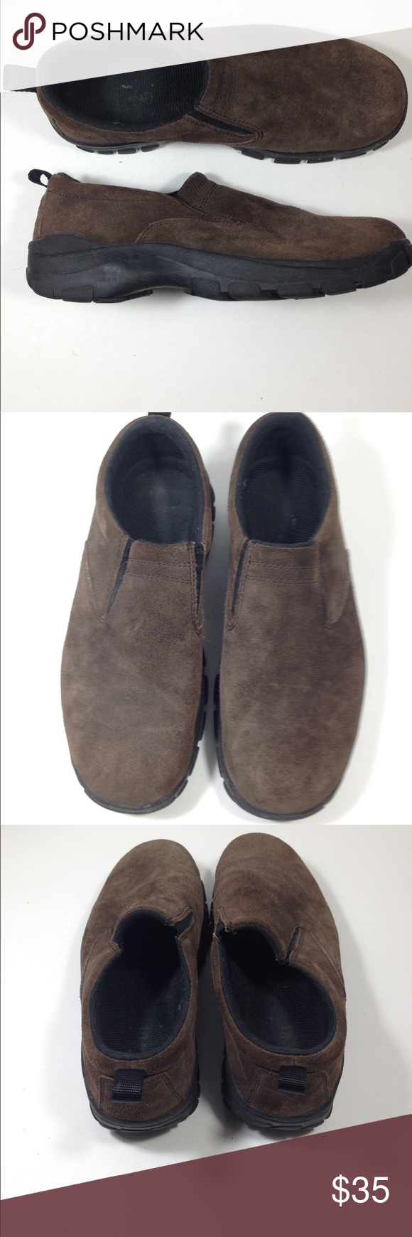 0495adcad RedHead slip ons Suede Dark brown - EX condition RedHead Men s slip ons -  Size 8.5 Suede Dark brown - EX condition Shoe 556 red head Shoes