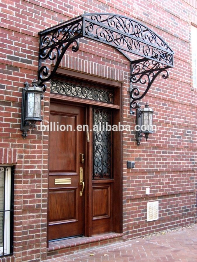 Source 2015 Manufacturer Wrought Iron Awning On M Alibaba Com