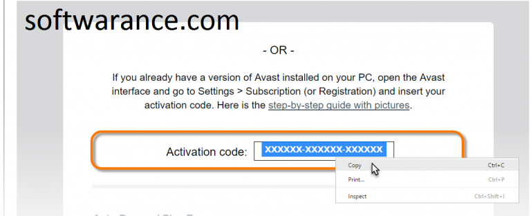Avast Premier 2019 Activation Code With Full Crack Download Https