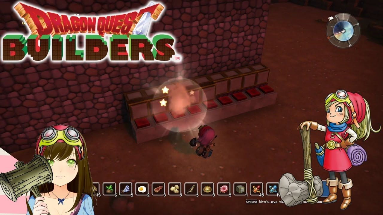 Dragon Quest Builders Barbella S Room Bouncey Traps Ep64 Dragon Quest Dragon Traps