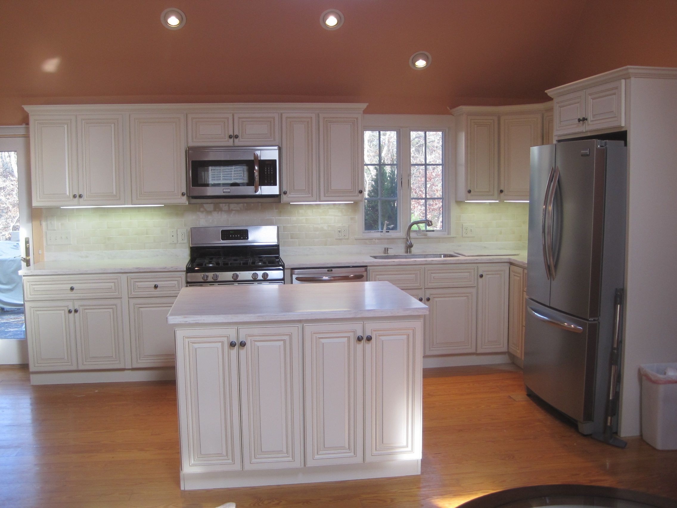 Corian Witch Hazel With Off White Island Google Search Kitchen Cabinets Prices Kitchen Remodel Kitchen Cabinets