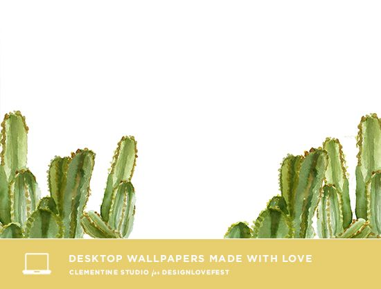 Cactus Desktop Wallpapers Designlovefest Cute Computer