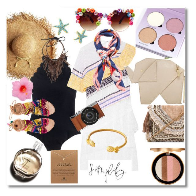 """""""Summer 2016"""" by hopelovesfashion ❤ liked on Polyvore featuring Too Faced Cosmetics, J.Crew, Hermès, Peter Pilotto, Blumarine, Kate Spade, Elina Linardaki, Brunello Cucinelli, Dogeared and Shashi"""