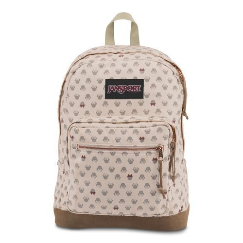 JanSport Disney Right Pack Expressions Backpack White/Pink ...