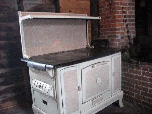 Copper Clad Wood Cook Stove Ebay Old Wood Cook Stoves