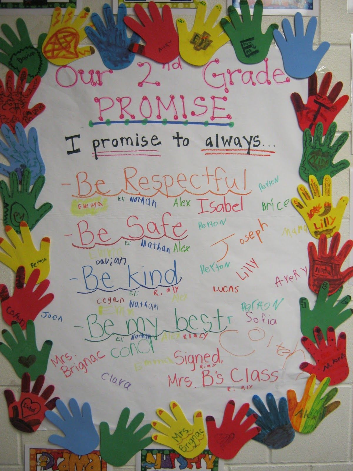 Our Second Grade Promise