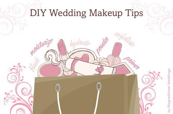 DIY Wedding Makeup - Tips from Wedding Make Up Artist Brynn Andre!