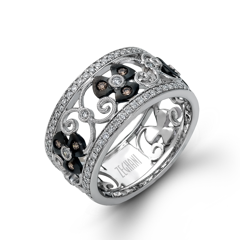 ZR1064 RightHand Ring Fashion rings, Black gold ring