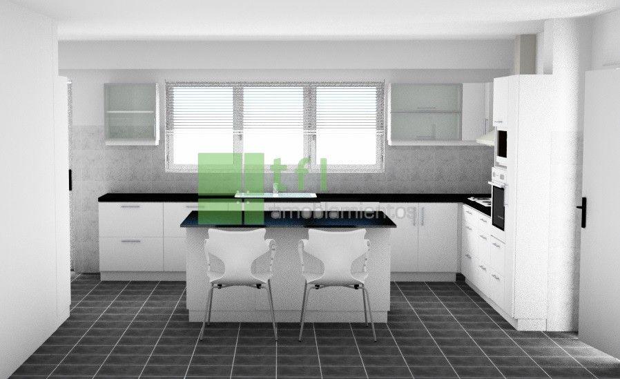 Excepcional Cocina Modular De Software 3d Descarga Gratuita Molde ...