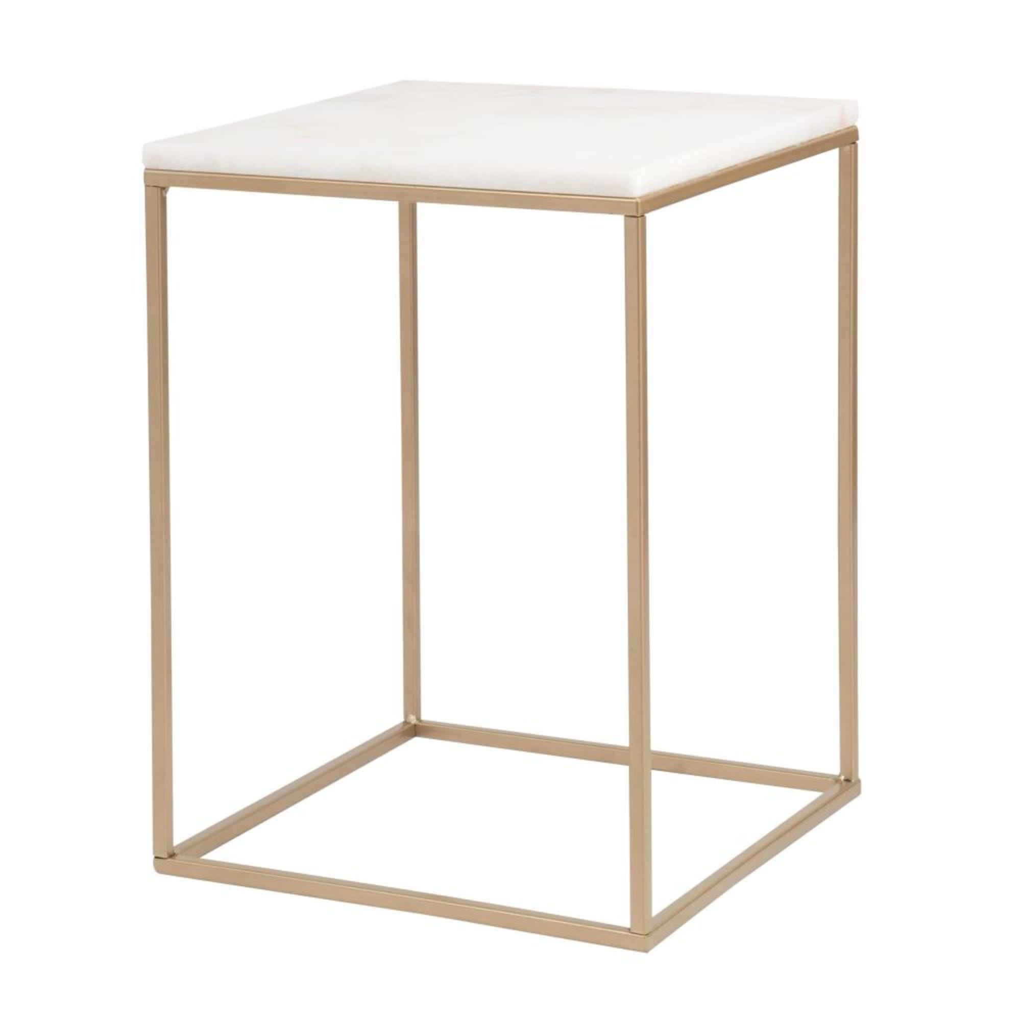 Tables Desks Marbre Blanc Bout De Canape Table De Chevet